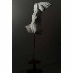 Angel (Plaster) (side)